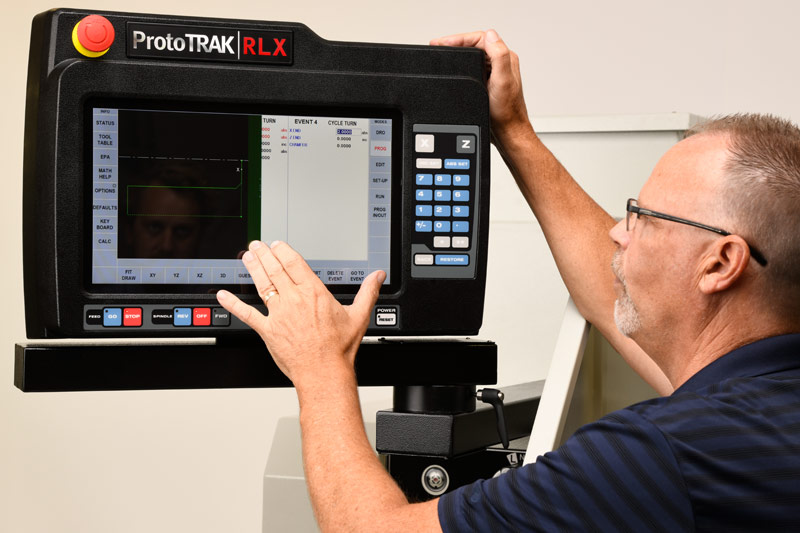 The ProtoTRAK RLX CNC