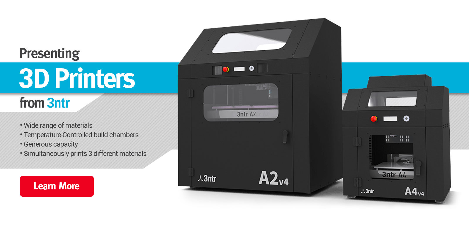 TRAK Presents 3D Printers From 3ntr