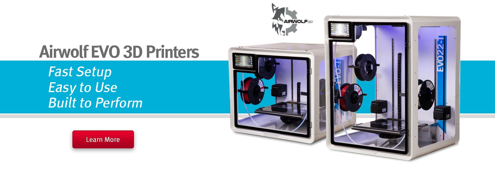 Airwolf EVO 3D Printers