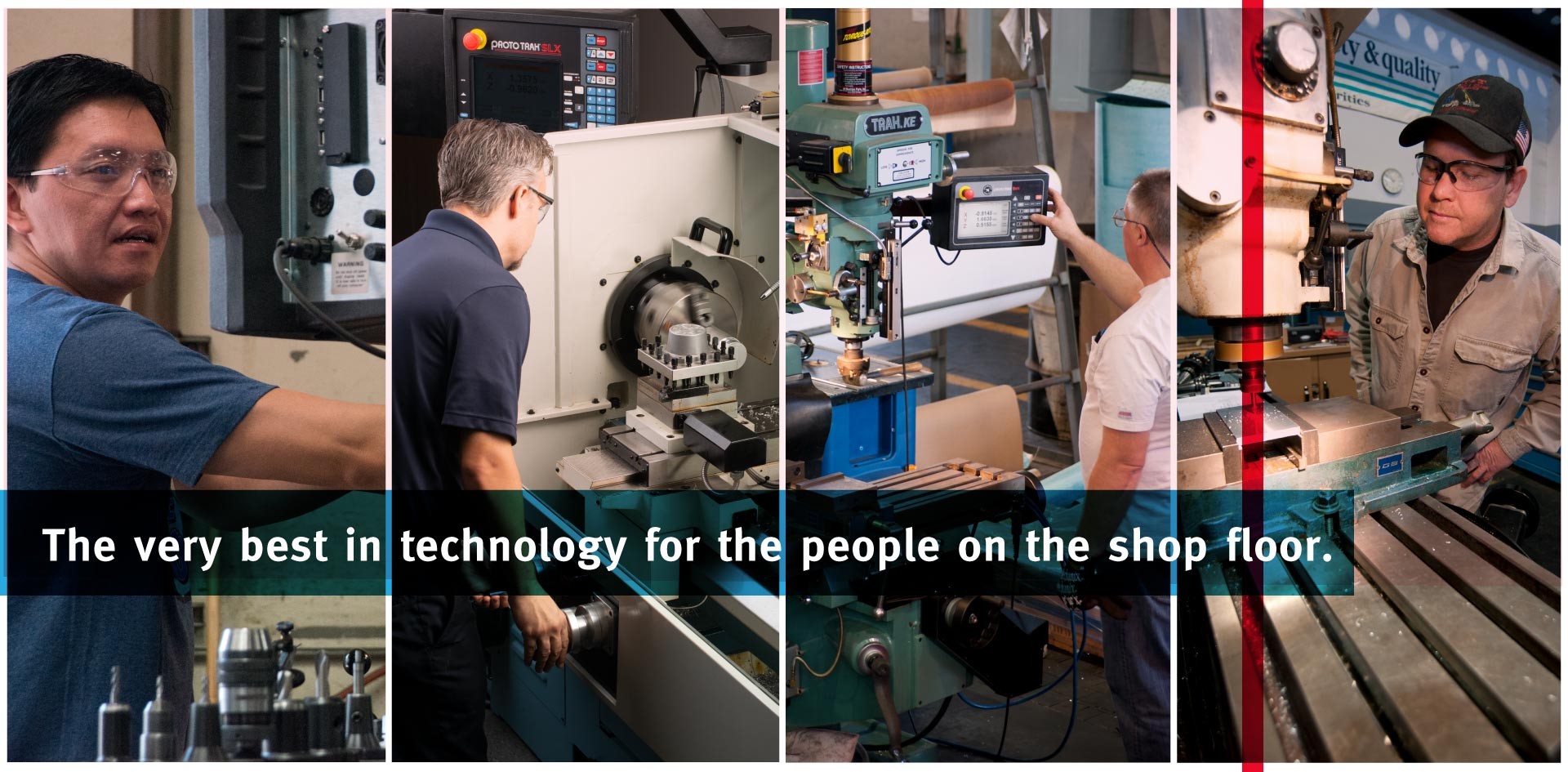 TRAK Machine Tools - The Very Best Technology for the People on the Shop Floor