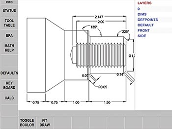 DXF Converter - Lathes