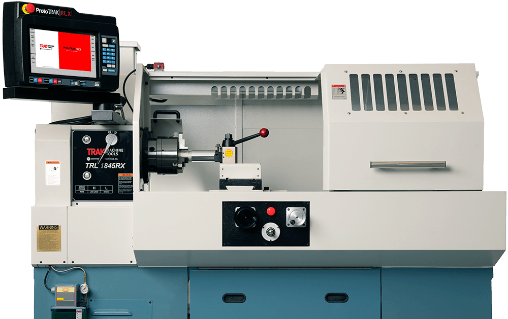 TRLRX Series Toolroom Lathes with the ProtoTRAK RLX CNC
