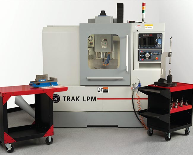 The TRAK LPM Vertical Machining System