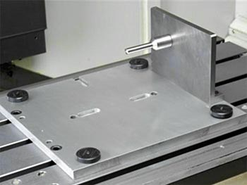 TRAK 2op Vise Fixture Plate Assembly Option