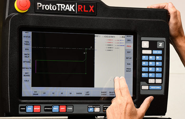 ProtoTRAK RLX CNC Editing On-The-Fly Example 1