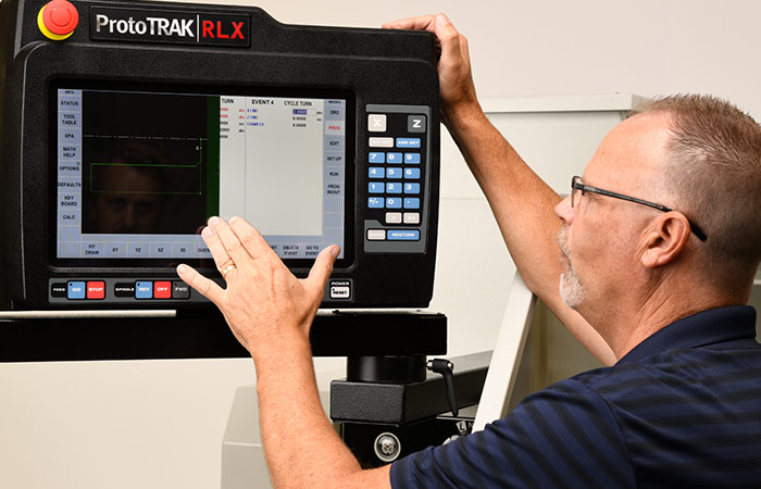 ProtoTRAK RLX CNC - Shop Floor Operation