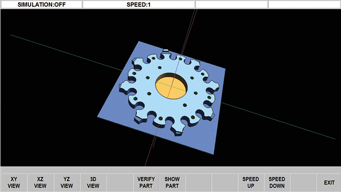 ProtoTRAK RMX CNC Solid Model Graphics for Optional Verify and Parasolid Converters