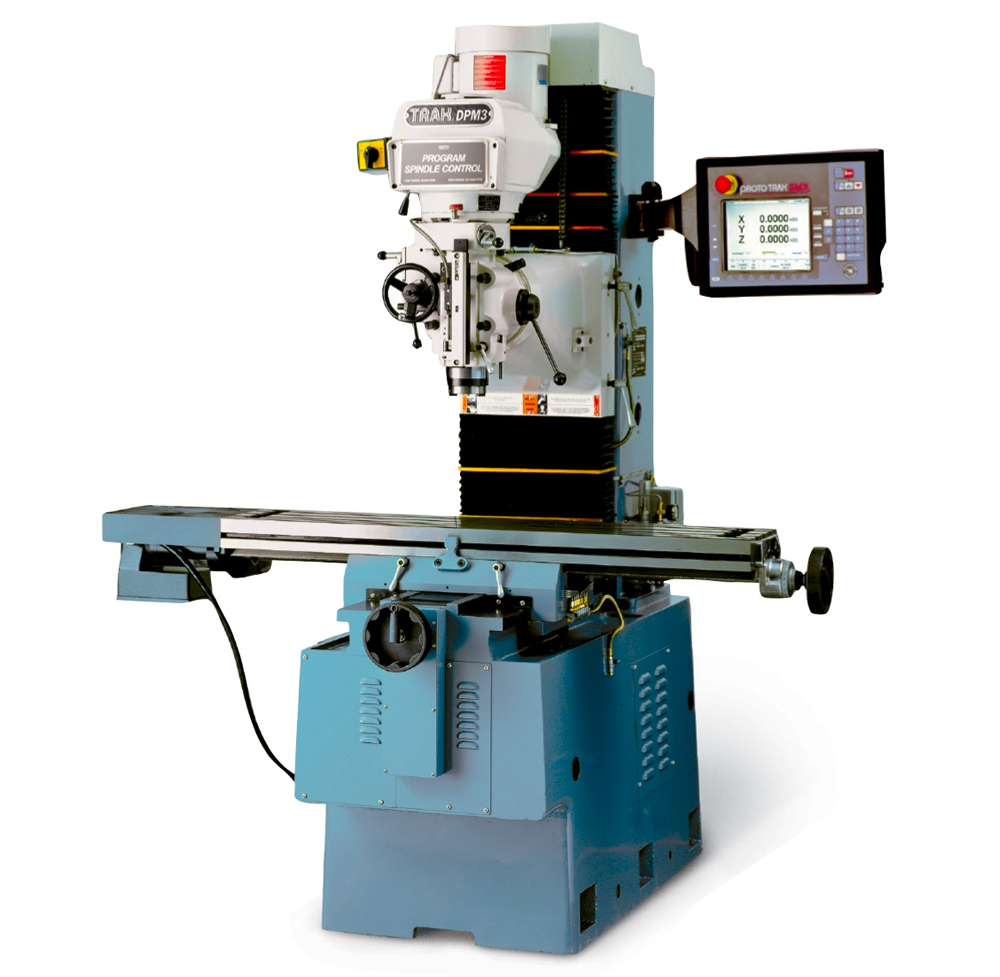 dpm sx3p bed mill with the prototrak smx cnc