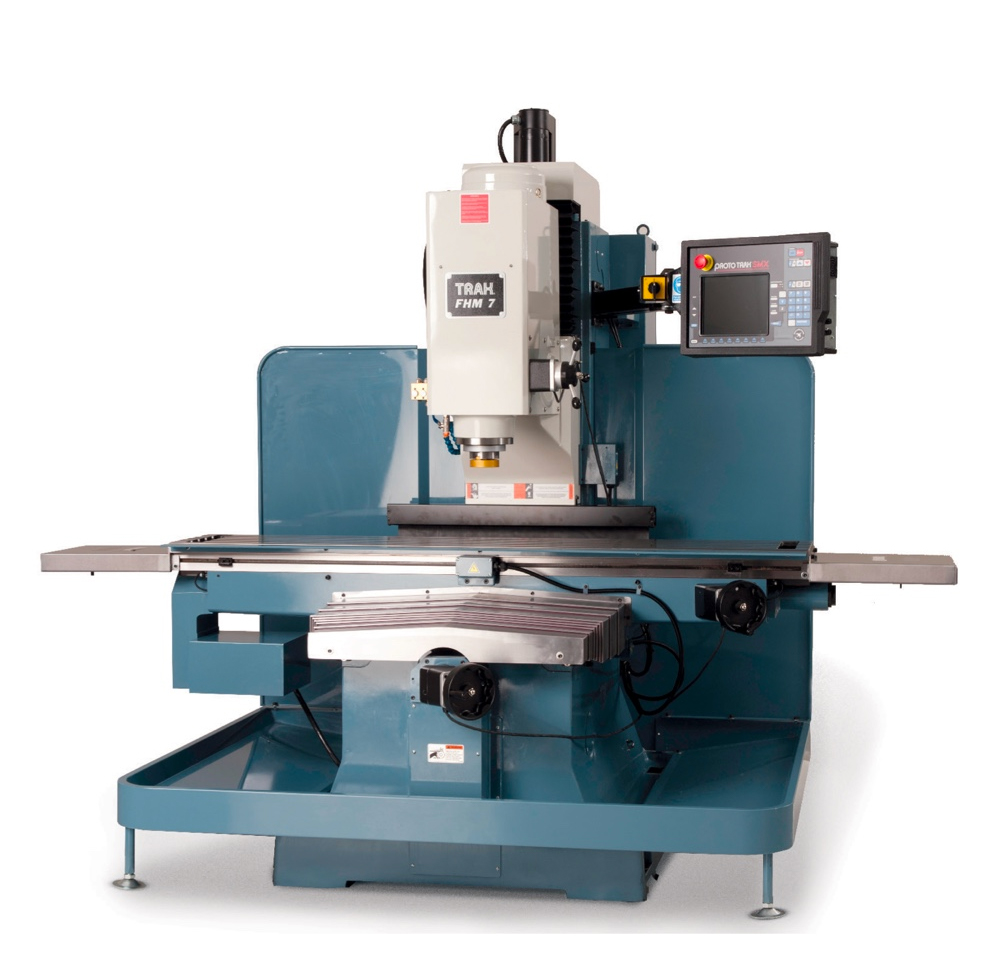 Cnc Bed Mills Diagram Wiring Third Level Jet Mill Trak Fhm7 Featuring The Prototrak Smx Table
