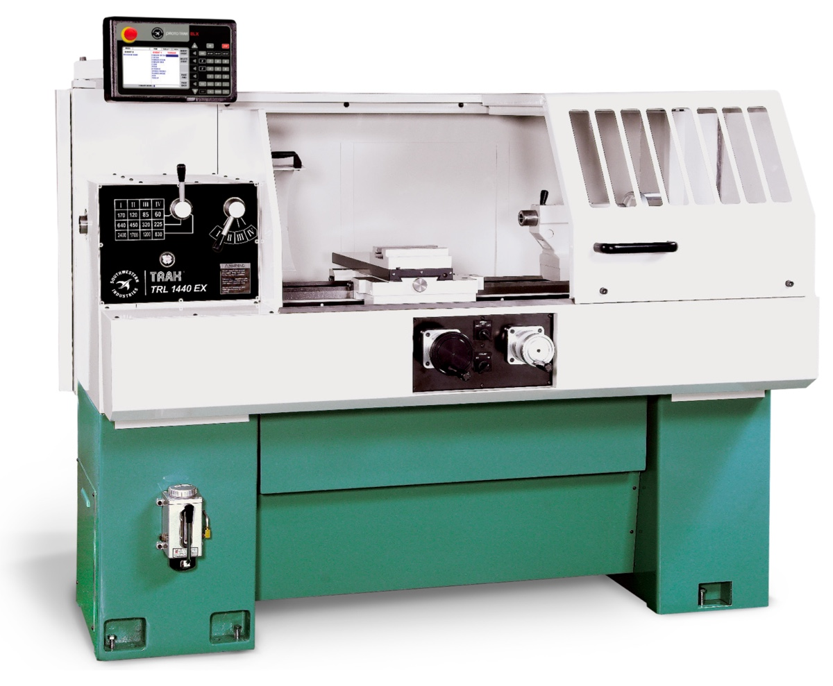 The look and feel of a manual lathe, but with CNC efficiency